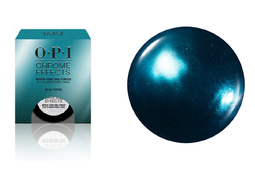 "OPI Chrome Effects Dipping Powder, CP004, Blue ""Plate"" Special, 0.1oz KK0613"