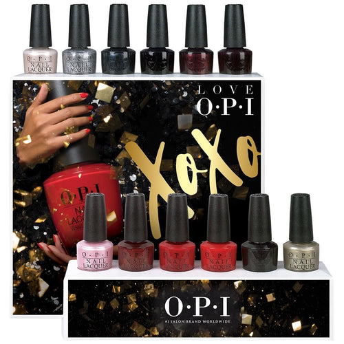 OPI Nail Lacquer 4, Love OPI XOXO Collection, 0.5oz, Full Collection Of 12 Colors (from HRJ01 to HRJ12, Price: $4.5/pc) Pro