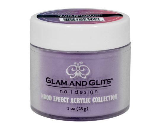G & G Mood Effect Acrylic Powder, ME1018, Plum mutation, 1oz KK0426
