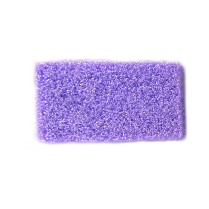 Airtouch Disposable Mini Pumice Sponge, PURPLE, INNER CASE (Packing: 400 pcs/box)