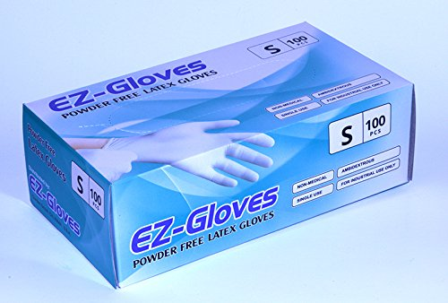EZ-Gloves, Powder-Free Latex Gloves, Size S OK1207