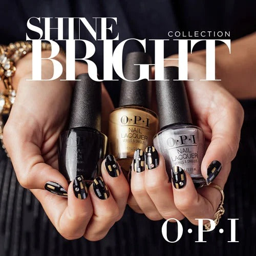OPI Nail Lacquer, Shine Bright Collection 2020, Full Line Of 12 Colors (From NL HRM01 To NL HRM12), 0.5oz OK0812VD