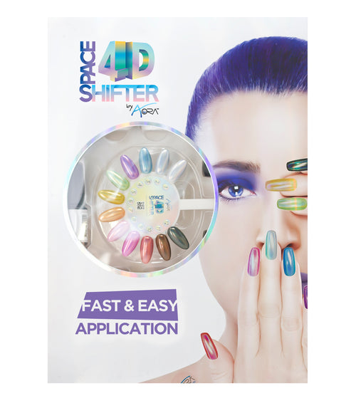 AORA 4D Space Shifter Gel Polish Full Line Of 12 Color (from 01 to 12), 0.5oz OK1212