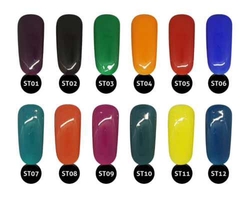 1Gel III, Statement, AORA 8, Full Line Of 12 Colors (ST#01 - ST#12) KK