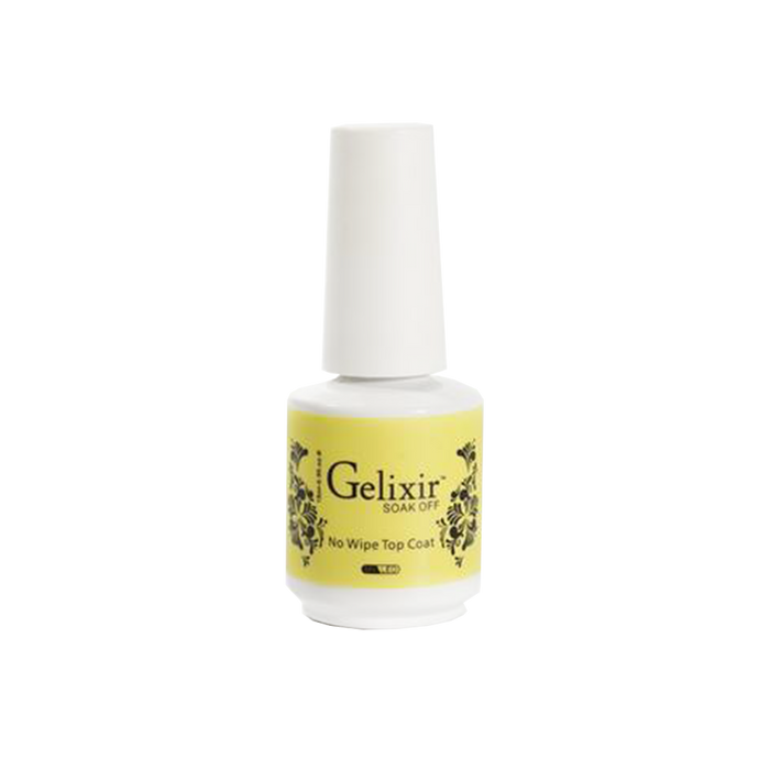 Gelixir No Wipe Top Coat, 0.5oz KK0926