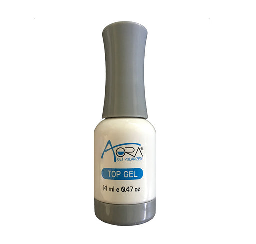 Aora Chrome Mirror nail pigment Top Coat, 0.47oz OK1212