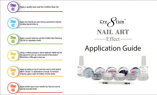 Cre8tion Nail Art Unicorn Effect, 1oz, Full Line Of 11 Colors (from 1101-0365 to 1101-0381, Price: $14.95/pc)