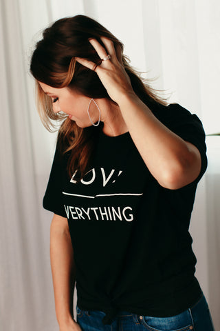 Love Over Everything Graphic Tee