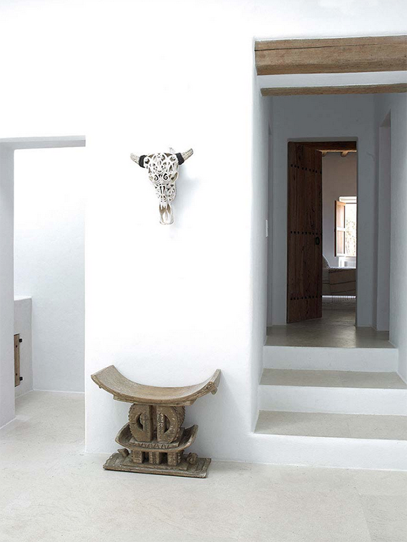 white and neutral interior Blakstad Ibiza