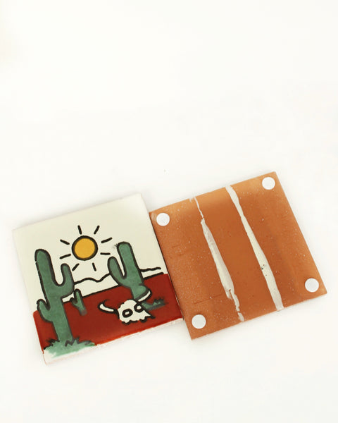 THE GERDU - Cactus Tile Coaster
