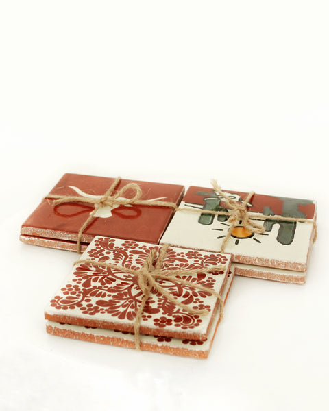 Mexican Tile Coasters