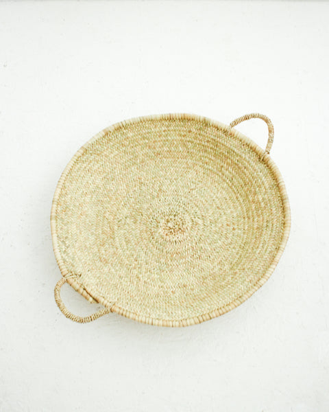 Woven Palm Leaf Tray // Large