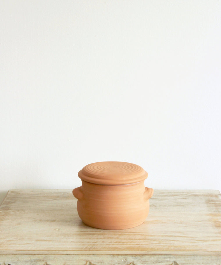 Handmade Pottery //  French Style Butter Dish