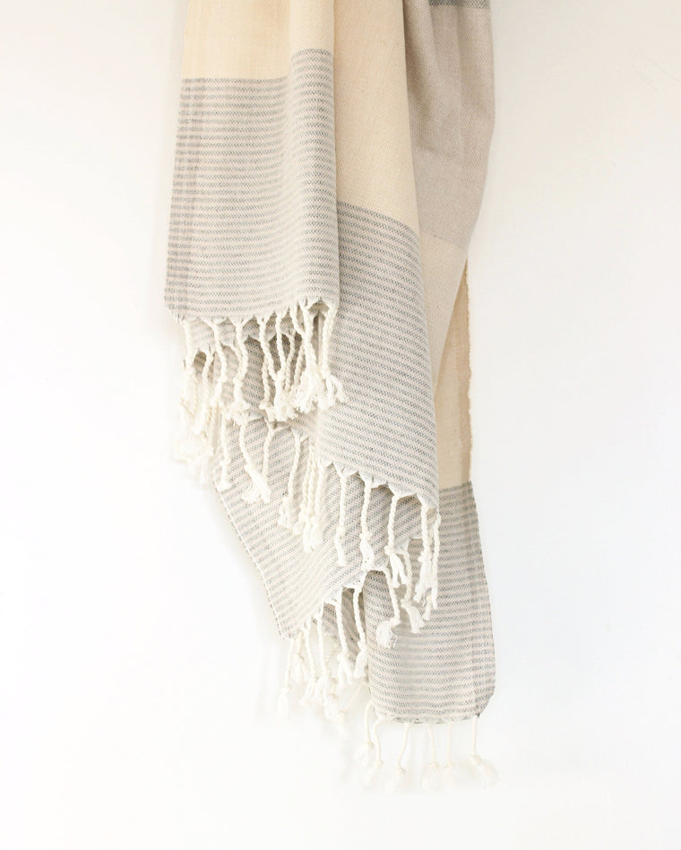 Lagoon Turkish Towel // Natural