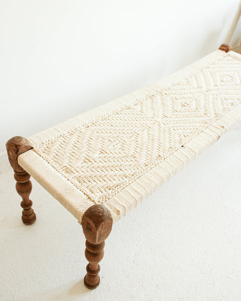 Indian Charpoi Daybed / Bench // Large