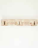 White Wooden Wall Hook