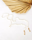 White Shell Sunglasses Necklace