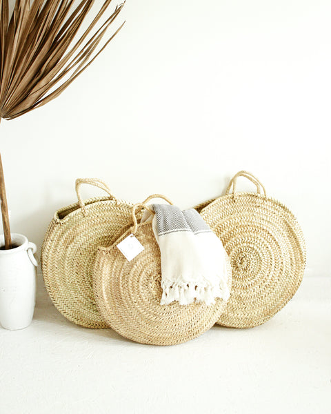 THE GERDU - Moroccan Round Basket