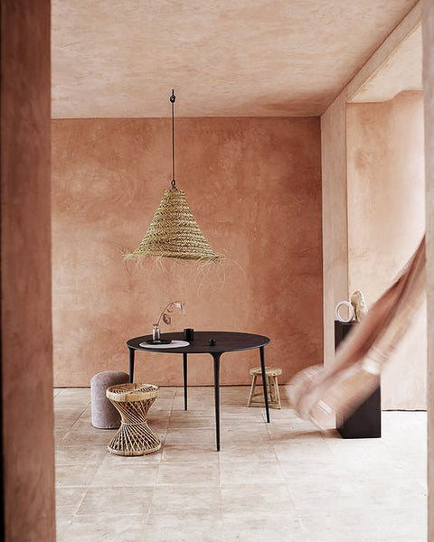 THE GERDU - Moroccan Sea grass Lampshade