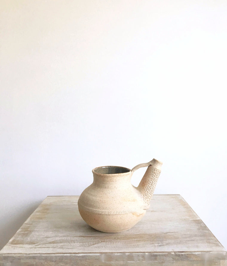 Handmade Pottery // Wine Decanter