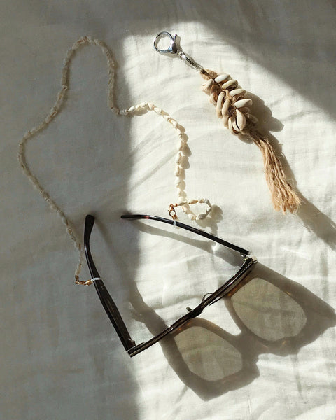 Sunglasses Shell Chain Necklace