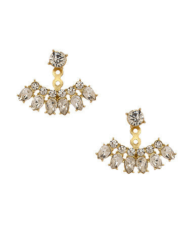 Crystal Lainey Ear Jackets