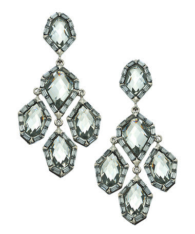 Crystal Wrapped Chandelier Earrings