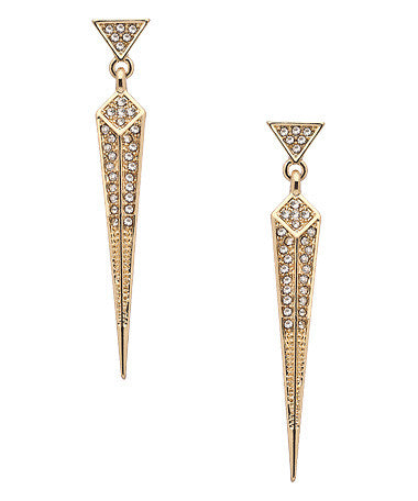 Art Deco Spike Earrings