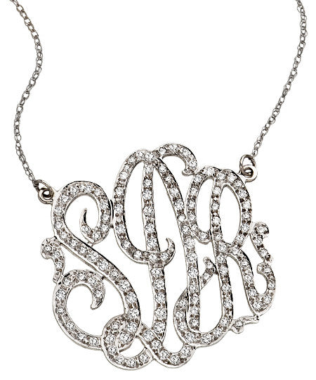 1.5 Carat Diamond Monogram