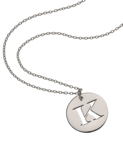 Sterling Initial Necklace
