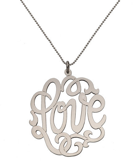 Love Lace Necklace