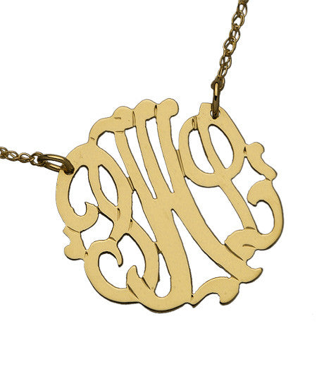 Small Monogram Necklace