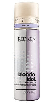 BLONDE IDOL CUSTOM-TONE VIOLET CONDITIONER 196ml ADJUSTABLE COLOR-DEPOSITING DAILY TREATMENT FOR COOL BLONDES