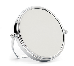 Shaving mirror from MÜHLE, with holder,