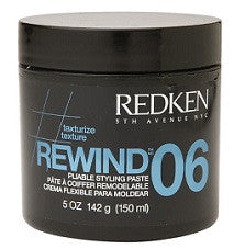 TEXTURE REWIND 06 150ml PLIABLE STYLING PASTE