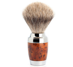 STYLO - Shaving brush from MÜHLE, fine badger, handle material thuja wood