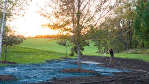 Advantages of Hydroseeding over Sod or Broadcast Seeding