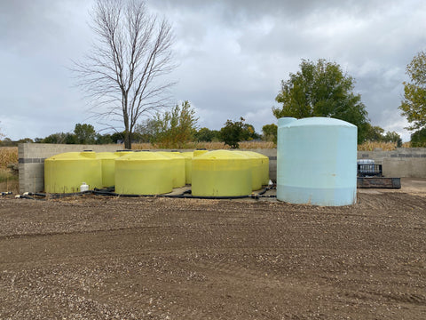 Brine and Additive Storage Tanks for Voigt Smith Innovation
