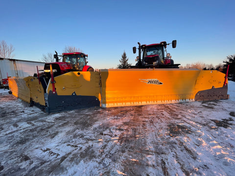 Metal Pless Plows, Ag Tractor Plows, Live Edge, Voigt Smith Innovation, Tractors vs. Loaders