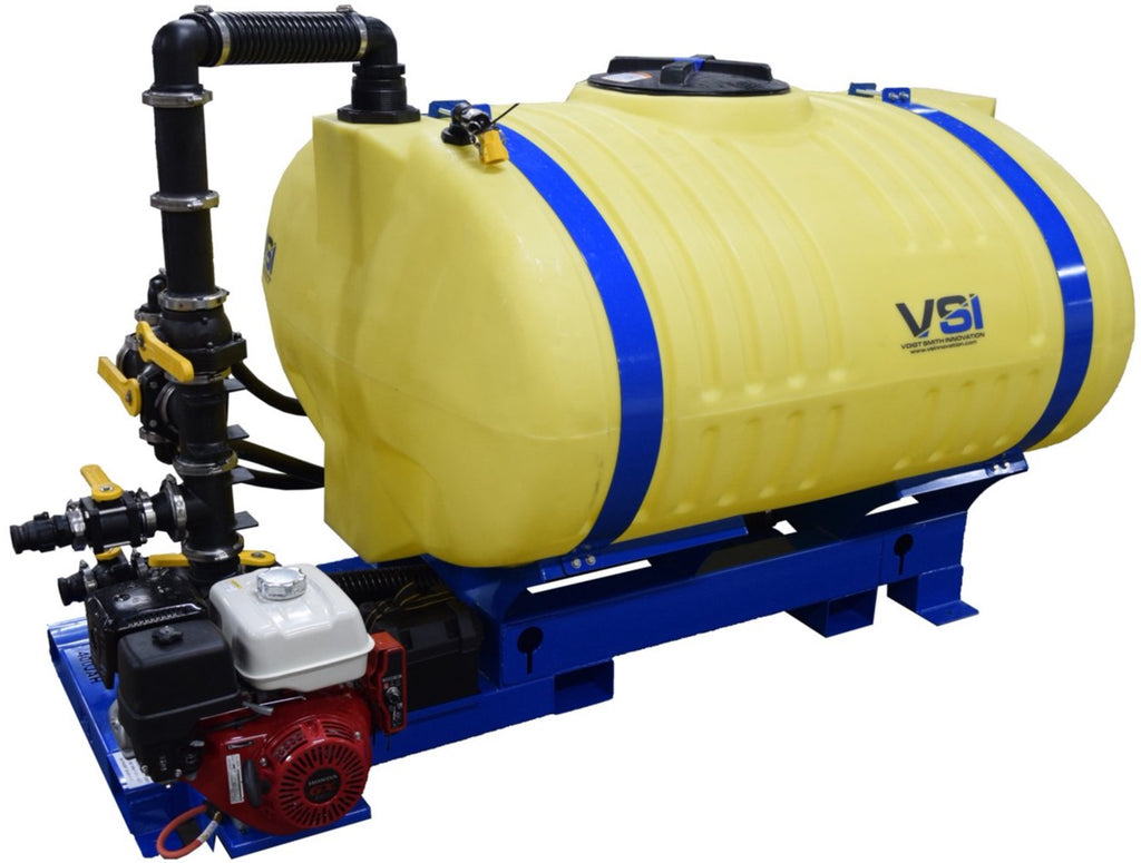 VSI 400 Gallon Jet Agitated Hydroseeder