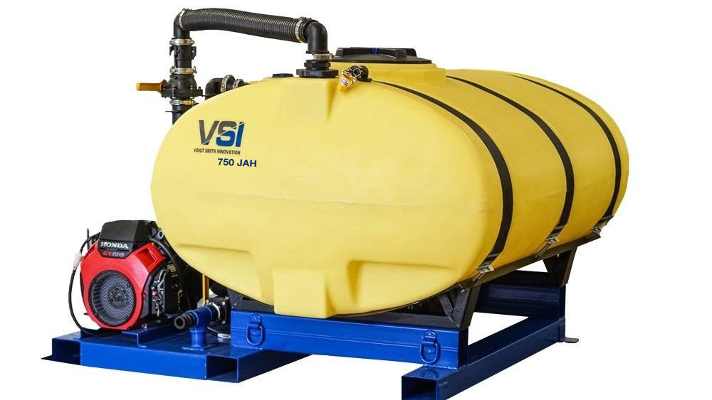 VSI 750 Gallon Jet Agitated Hydroseeder