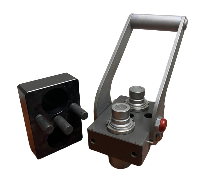 Stucchi Quick Connect Hydraulic Plate - Machine Side
