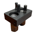 Stucchi Quick Connect Hydraulic Plate - Attachment Side