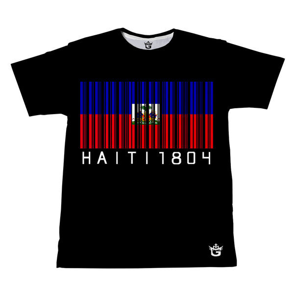 TMMG HAITI 1804  BAR CODE T-SHIRT