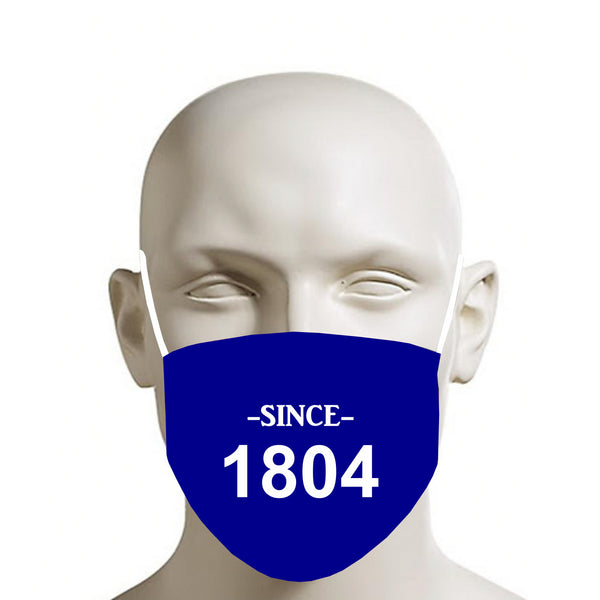 BLUE TMMG HAITI SINCE 1804 FACE MASK