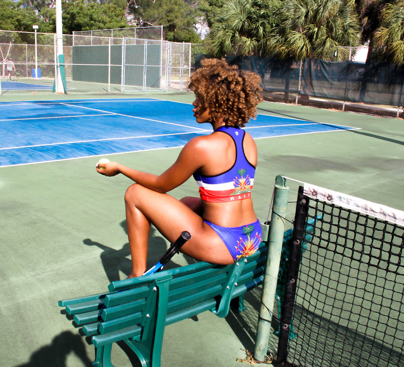 DUAL PURPOSE TMMG HAITIAN FLAG SPORTS SWIM SET