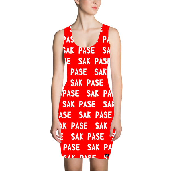 RED SAK PASE DRESS