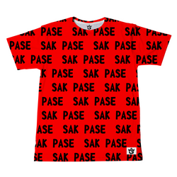 TMMG RED AND BLACK SAK PASE T-SHIRT