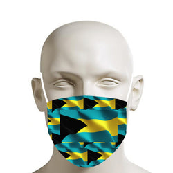 TMMG BAHAMAS FLAG MOUTH MASK