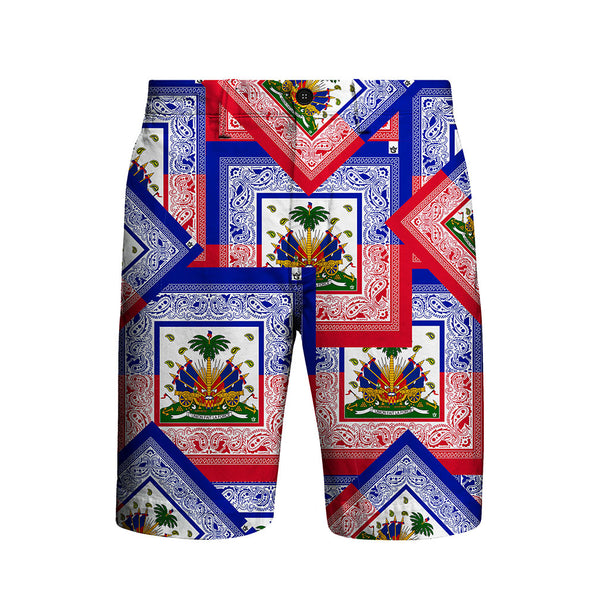 TMMG HAITIAN FLAG BANDANA DRESS SHORT PANTS